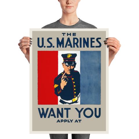 THE U.S. MARINES WANT YOU