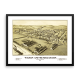 WILSON AND MENDELSSOHN, PA 1902 Framed