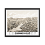 Westport, CT 1878 Framed