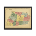 South Windsor, CT 1869 Framed