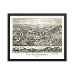 East Stroudsburg, PA 1884 Framed