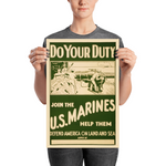 DO YOUR DUTY: JOIN THE U.S. MARINES