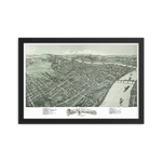 Parkersburg, West Virginia 1899 Framed
