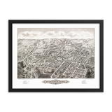 Stoneham, MA 1878 Framed Map