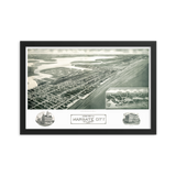 Margate City, NJ 1925 Framed