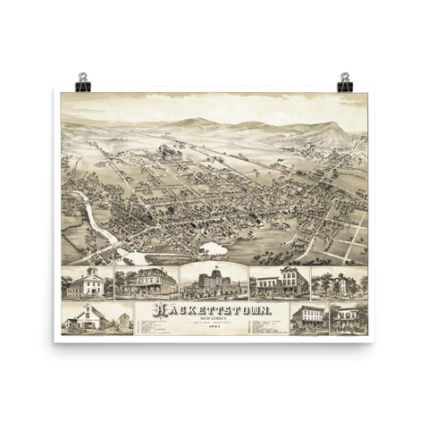 Hackettstown, NJ 1883