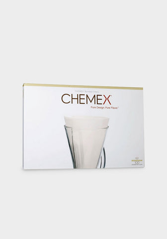 Chemex Unfolded Half Moon Filters