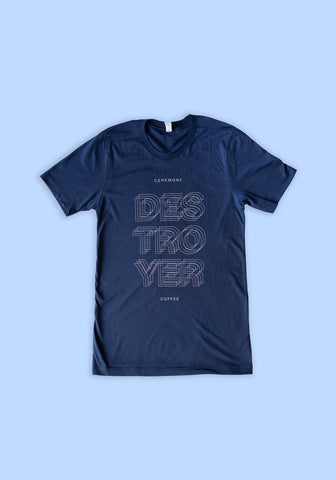 Ceremony Destroyer T-Shirt (Navy)