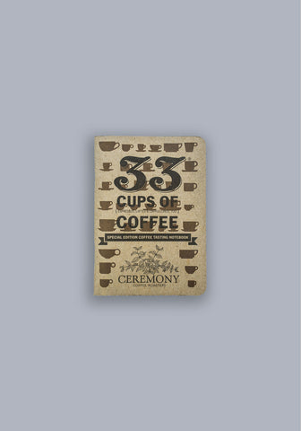 Ceremony Coffee Tasting Notebook