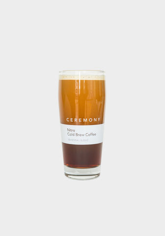 Ceremony Nitro Cold Brew Glass