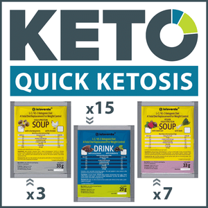 keto MCT oil protein and fat shake