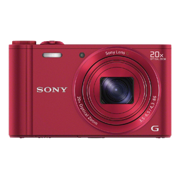 Sony DSC WX300 R 18 MP Digital Camera with 20x Optical Image Stabilized Zoom and 3 Inch LCD
