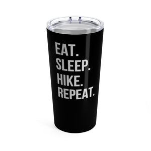 Eat Sleep Hike Repeat Travel Mug