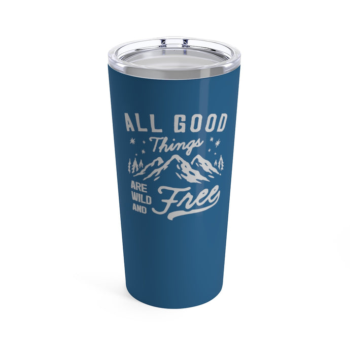 Wild and Free Travel Mug