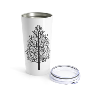 Winter Pine Tree Travel Mug
