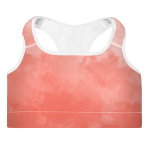 Cotton Candy Padded Sports Bra