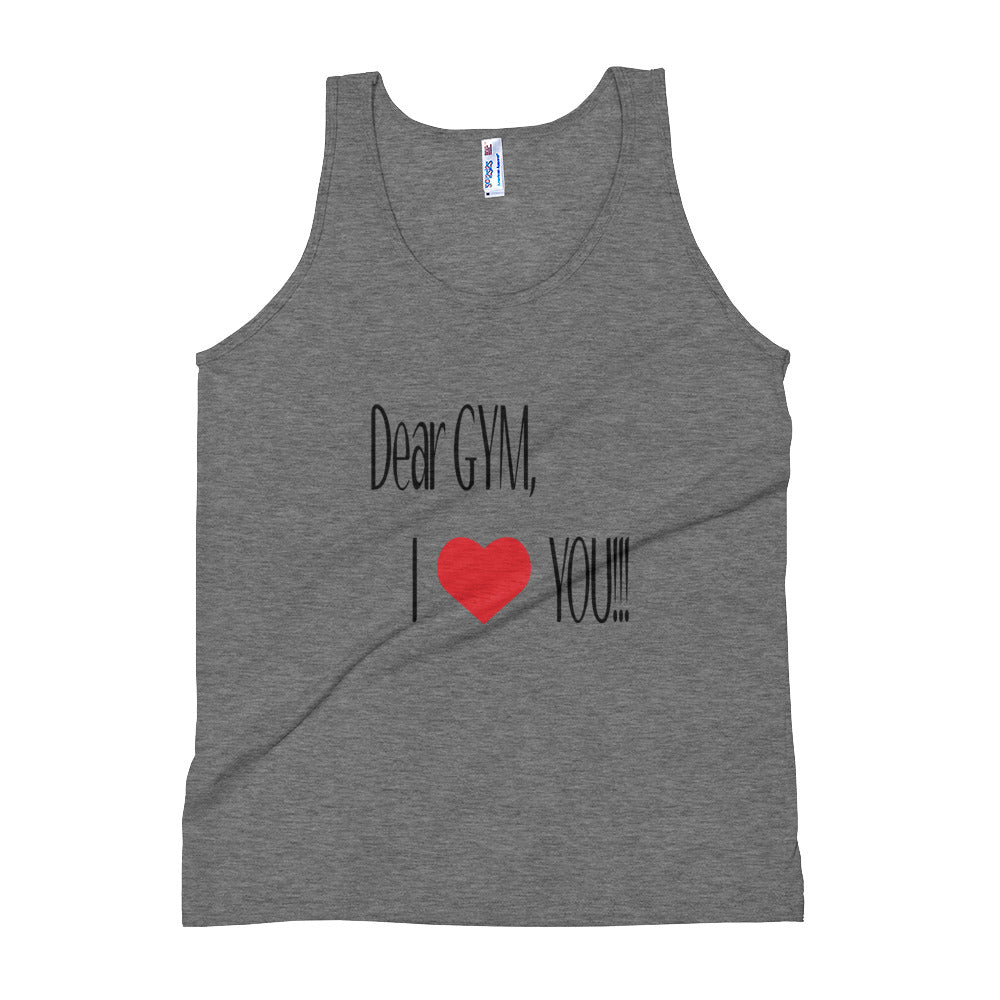 Dear Gym Tank Top