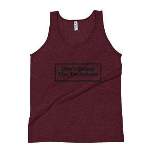 Don't Sweat The Technique Logo Tank Top