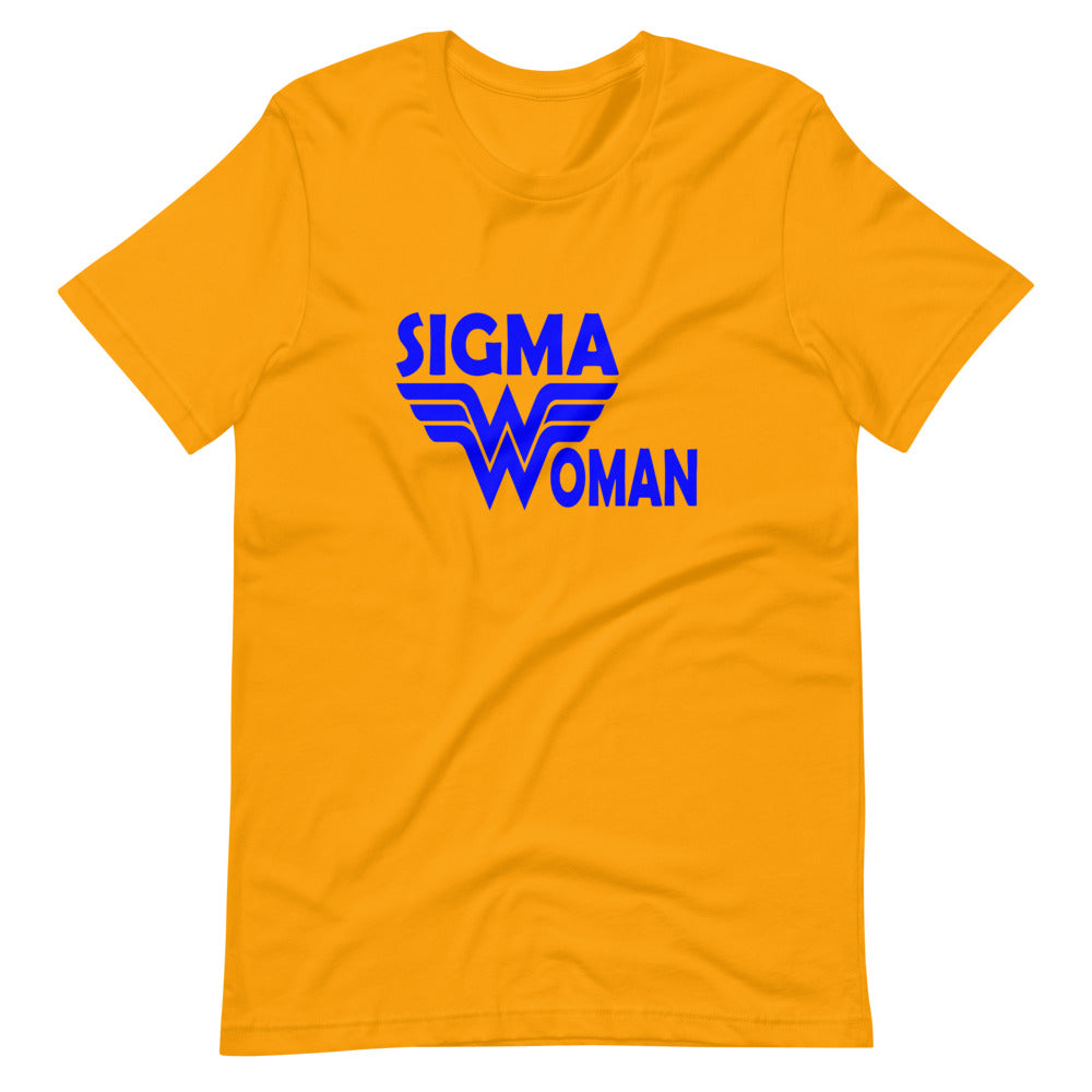 Sigma Woman Custom Short-Sleeve T-Shirt