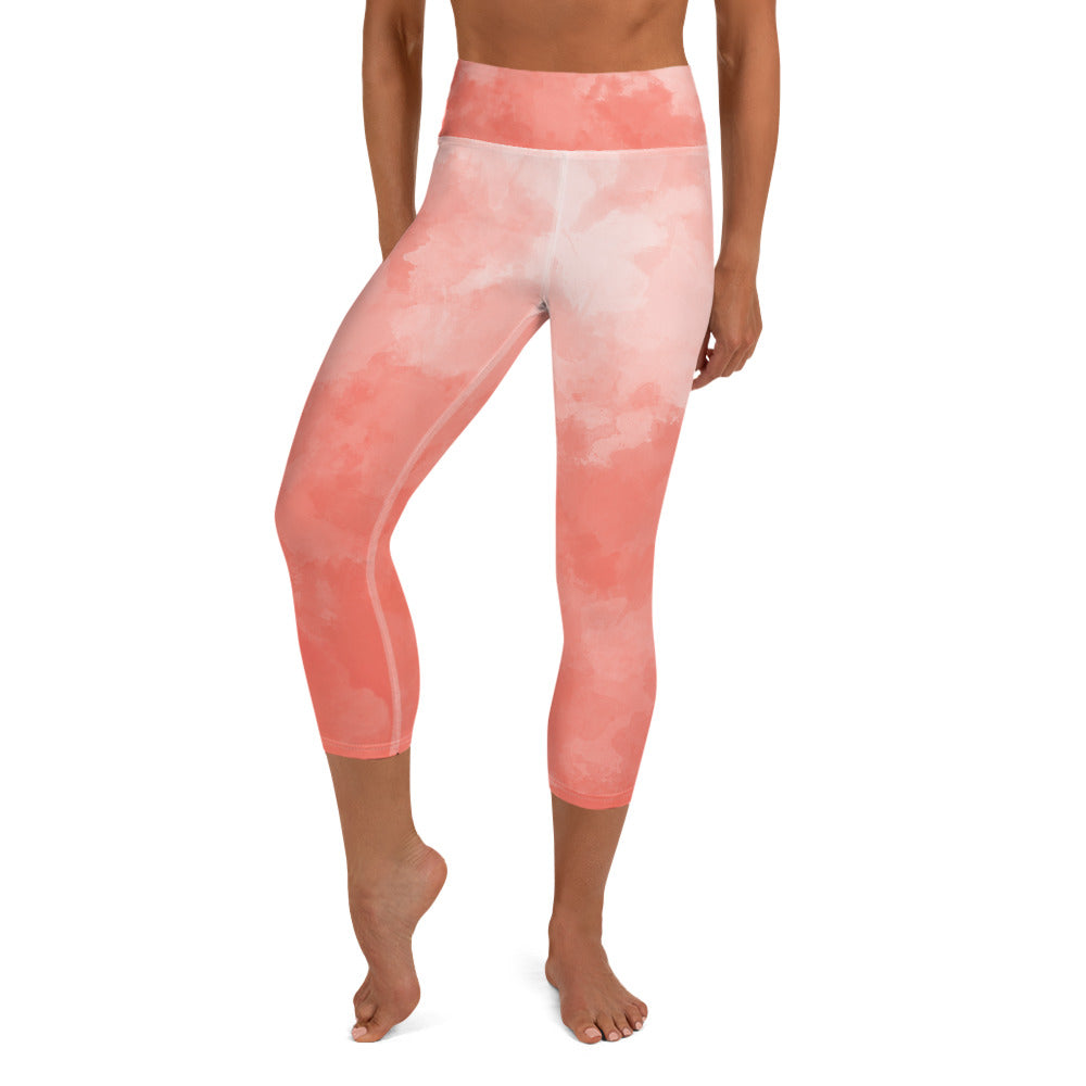 Cotton Candy Capri Leggings