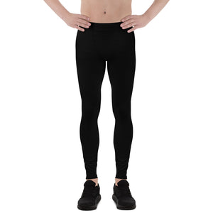 Men's Black Leggings
