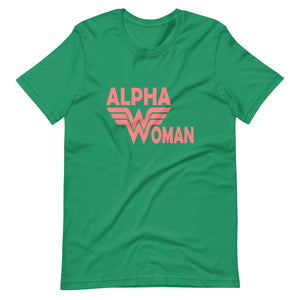 Alpha Woman Custom Short-Sleeve T-Shirt
