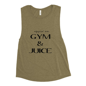 Gym & Juice Ladies' Muscle Tank