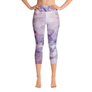 Lavender Jones Capri Leggings