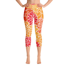 Orange Crush Capri Leggings