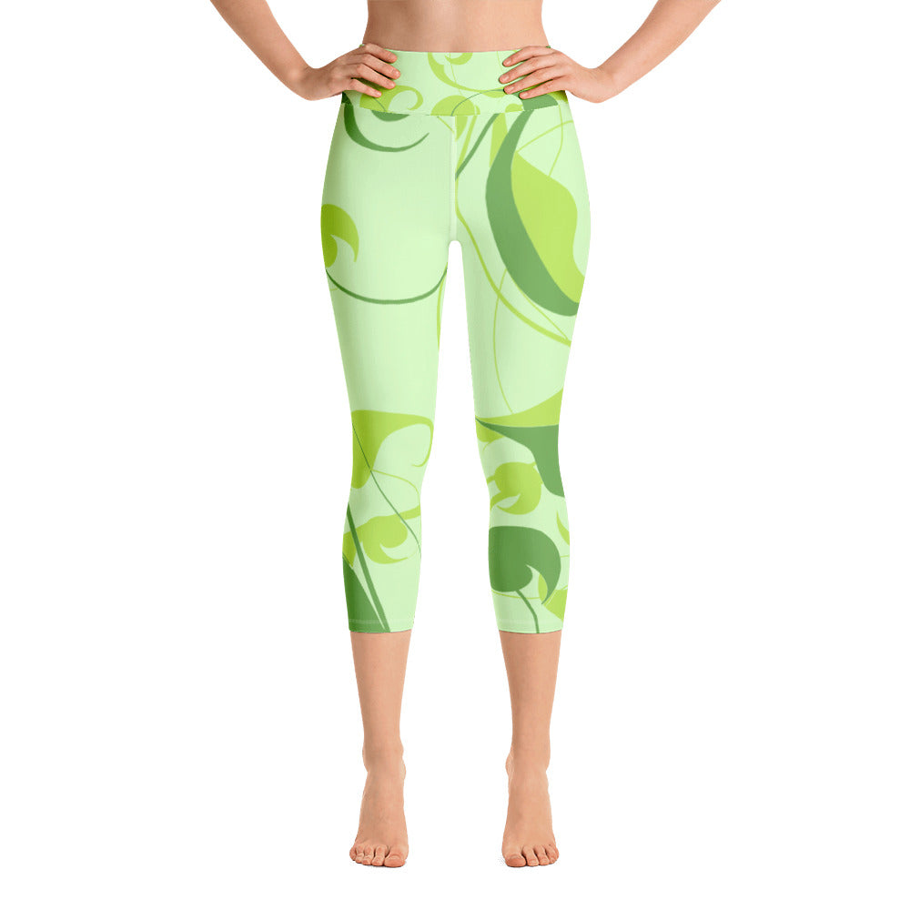 Green Dragon Capri Leggings