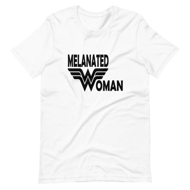 Melanated Woman Short-Sleeve T-Shirt