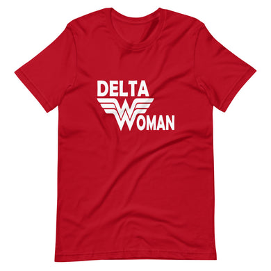 Delta Woman Custom Short-Sleeve T-Shirt