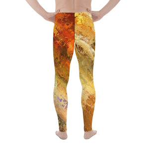 Agent Orange Men's Leggings