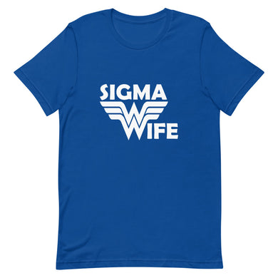 Sigma Wife Custom Short-Sleeve T-Shirt