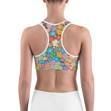 Flower Power Sports Bra