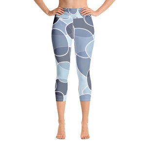 Blueberry Capri Leggings