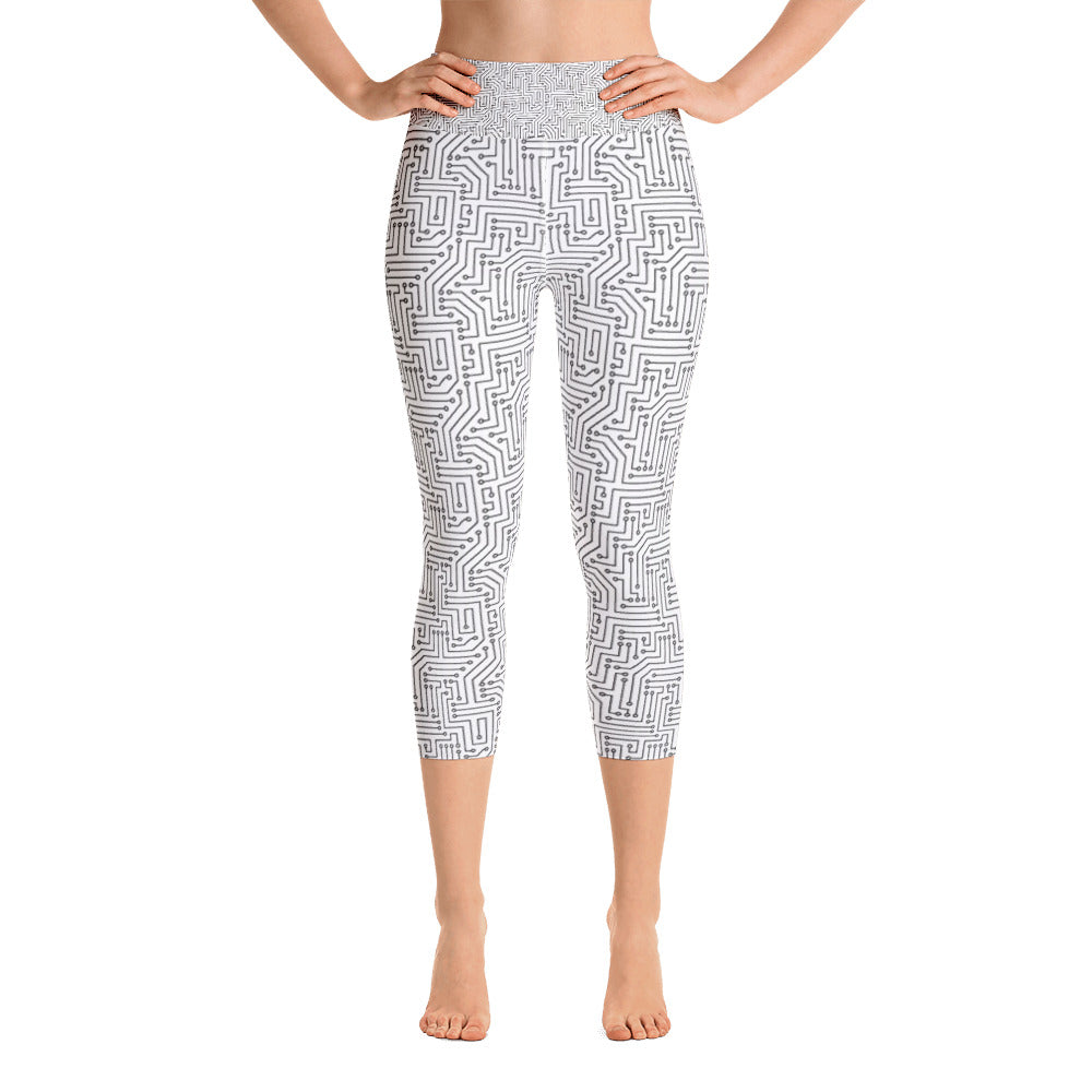 Computer Love Capri Leggings