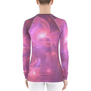 Purple Rain Rash Guard