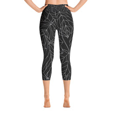 Black Ice Capri Leggings
