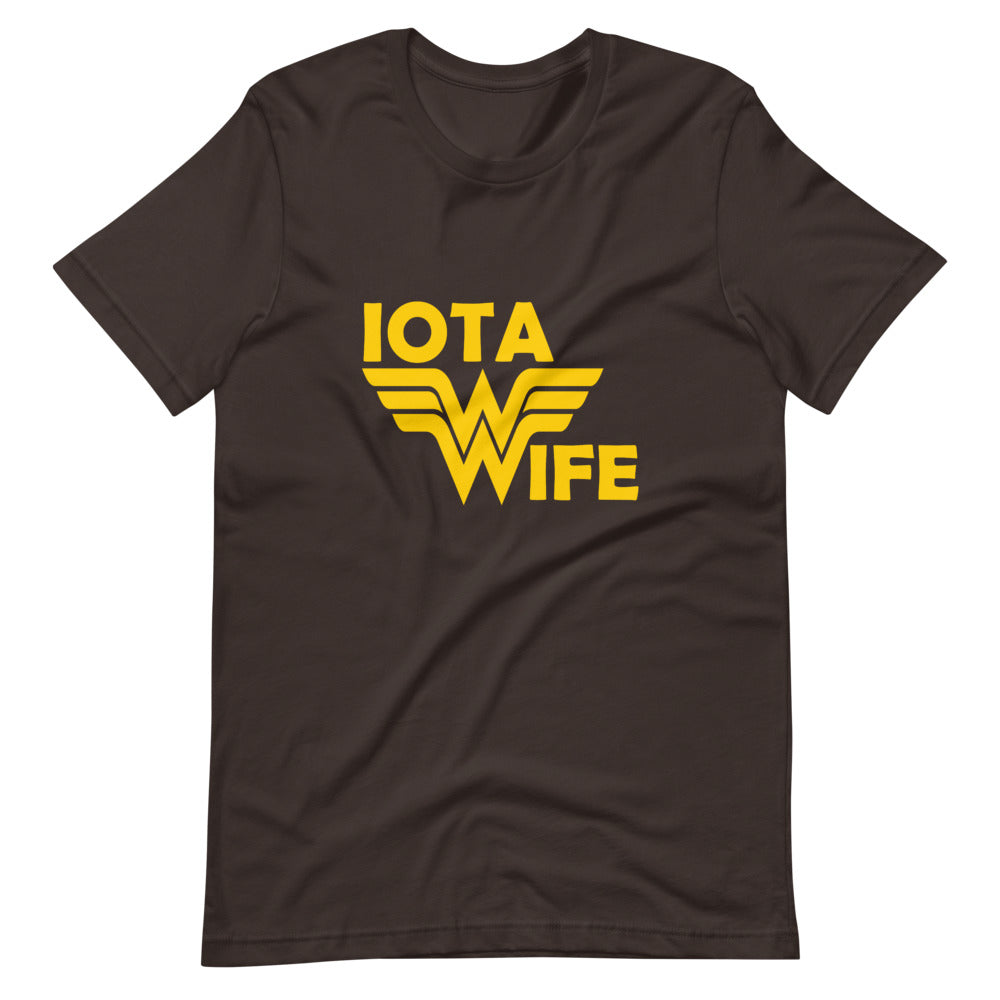 Iota Wife Custom Short-Sleeve T-Shirt