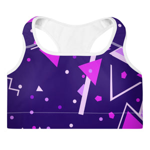 Grape Ape Padded Sports Bra