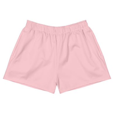 Pink Women's Athletic Short Shorts