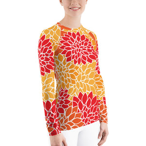 Orange Crush Rash Guard