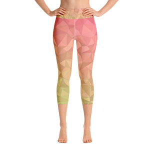 Grapefruit Capri Leggings