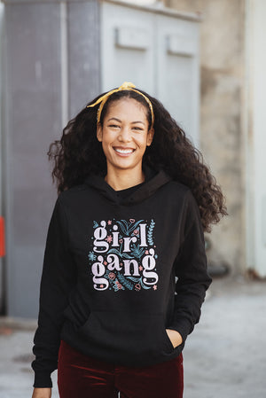 Girl Gang Hoodie in Black