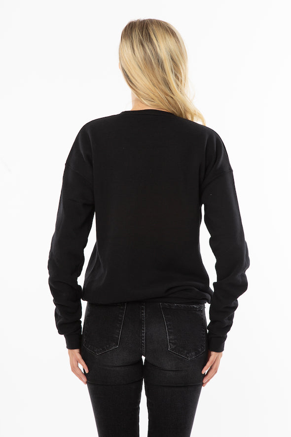 Girls to the Front Sweater in Black