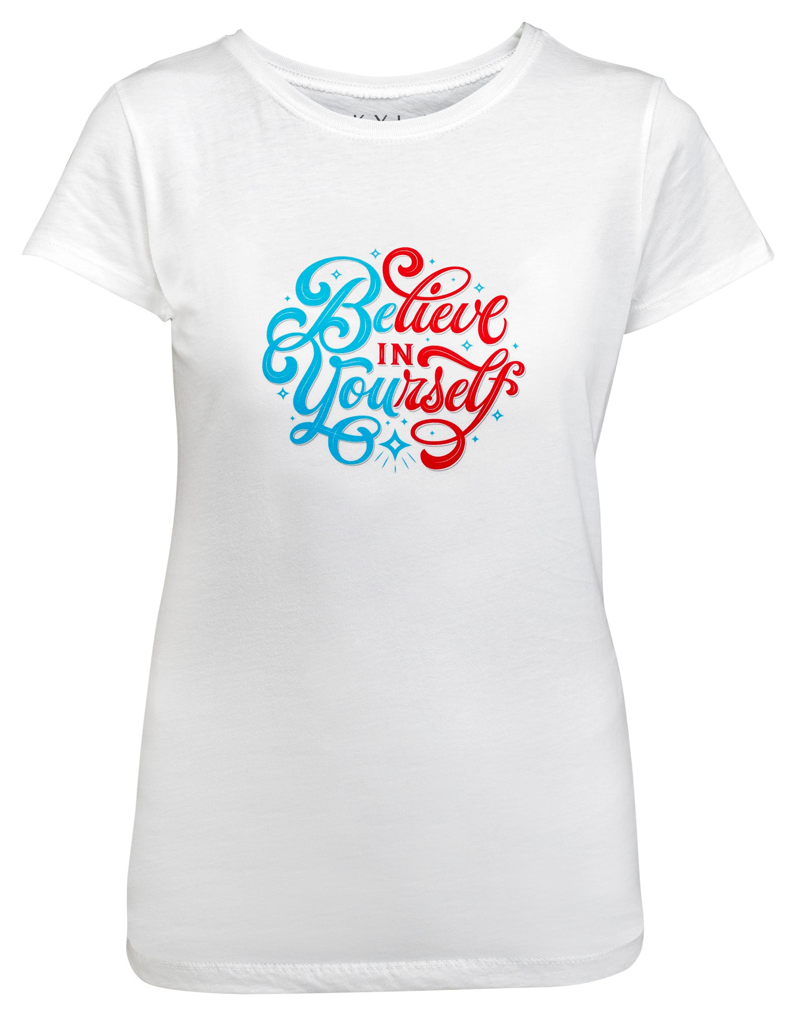 Believe in Yourself Youth Graphic Tee - White