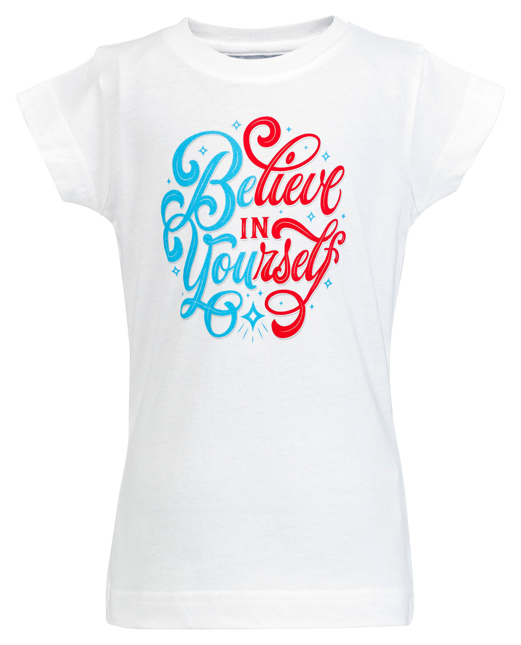 Believe in Yourself Toddler Graphic Tee - White