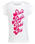 She's Magic, That One Toddler Graphic Tee - White