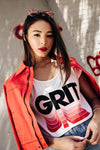Grit Graphic Tee - White